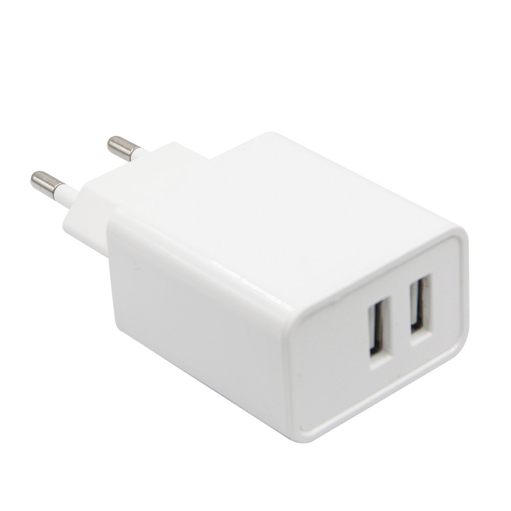 Two USB 3.1A Travel Charger